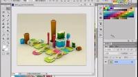 [PS]Photoshop CS6实例016通过排列调整图像窗口显示模式