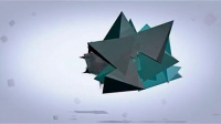 纯AE制作的抽象立方体