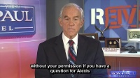 Ron Paul announces his interview with reddit's Alexis Ohanian