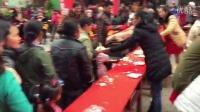 实拍十米长超大蛋糕贵州台江县诞生-芝麻拍客