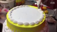 台江奥特曼蛋糕店超牛老板240秒做一个蛋糕-芝麻拍客纪录