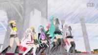 【MMD】【仿手绘风格】三妈式萝莉舞团