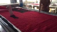 1858 laser cutting machine cut fabrics