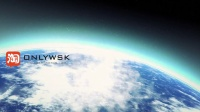 穿梭地球文字标识AE模板