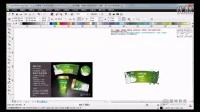 CorelDRAW实例教程 CDR印刷排版篇-奶茶绿豆爽 包装设计
