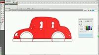 flash课件制作蒙语教程    第234课   蒙文课件制作     基础教程  实例  行驶的轿车