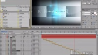 机器AE模版下载-交错字幕的影视片头-教材