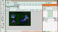 【FLASH教程】第四十课 遮罩有色滚动文字制作 【视频教程】