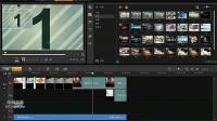 自学制短片视频加特效 配背景音乐会声会影X5入门教程