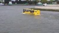 荷兰奇葩交通工具:鹿特丹的水上陆地两栖巴士_标清