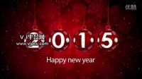 圣诞节、新年开场AE模板高清视频素材舞台LED背景编号:13744