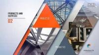 简约时尚大气公司企业宣传介绍片头时间线电视栏目包装AE工程模板
