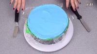 【大吃货爱美食】彩虹冰淇淋蛋糕 150104_高清