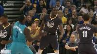 NBA历史最牛假摔!芬森自抽自脸也是拼了