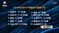 2014年全年汽车销量排行榜