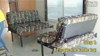 厂家直销二合一连接件床插扶手插杆沙发插片皓创家具五金优质配件