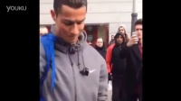 Cristiano Ronaldo disguised himself as a homeless man to give one fan an incredi