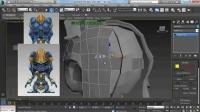 3DMAX小鱼人建模