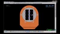 imes-icore450i 定制钛基预存接口加工视频 德国 CAD/CAM高速铣床