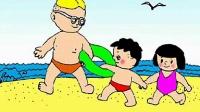 0001.爆米花-防溺水教育动画片 - 中国教育学会安全教育资源库 - 爆米花网