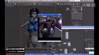 3D Max渲染材质教程-美女盔甲渲染