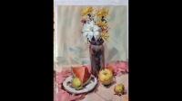 水果花卉静物色彩、(高考美术水粉静物)