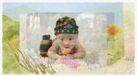 儿童电子相册制作成长生日flash视频高清短片—baby乐园