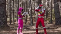 Power Rangers Dino Charge - Powers From The Past - Red and Pink Rangers~ First F