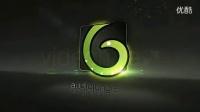 938 三维粒子Logo标志演绎AE模板