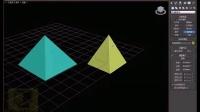 零基础远程3dmax效果图培训教程四棱锥的创建