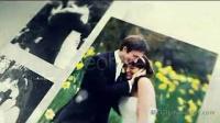 AE高端优雅的婚礼爱情故事相簿AE模板