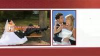AE352 浪漫爱心礼物盒子移动照片墙图片照片视频展示婚礼电子相册AE模板