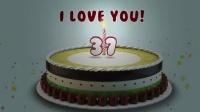 生日蛋糕庆生动画AE模板_224