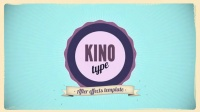 VideoHive 2190 Kino Type复古风格动态图形效果AE模板
