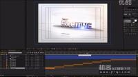机器AE模版下载-圆环简洁大气的质感文字效果-教程