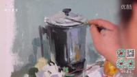 色彩名师教你如何画不锈钢 绘画技巧 杭州同行画室/同行谢融冰/杭州画室——杭州影视/鹰驰文化