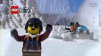 Arktis-Helikopter mit Hundeschlitten 60034 - Lego City 2014