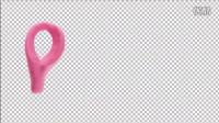 AE模板1729 彩色动画字母符号展示AE模板