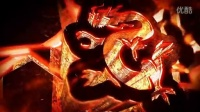 AE模板1867 震撼炙热火焰logo演绎E3D效果AE模板
