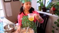 跟Rachel学烘烤--中式豆沙蛋糕-英文解说-English