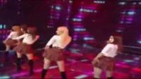 超性感学生制服短裙诱惑 韩国女团HELLOVENUS最新舞台Sticky Sticky