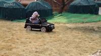栋马牌奔驰G55 AMG儿童电动车轻度越野