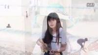 海边ukulele弹唱《浪花一朵朵》(白桦树娃娃)【UGC新人奖第三季】_标清_clip(1)