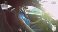 【雷雷baoTV】美女酷爱赛车,亲自驾车参加直线加速赛
