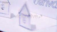 AE模板1556 手绘纸城个性展示AE模板