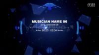 AE模板1308 音乐可视化元素AE模版