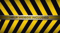 创意告示警告标示网站网店推广新品发布动画AE模版