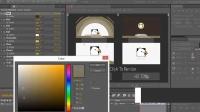 欣怡工作室简洁卡通风格Logo演绎动画AE模板