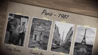 DZ127-复古怀旧相册 家庭回忆书籍AE模板