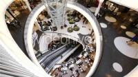 AE模板-购物大厦俯瞰电梯高清视频素材 Busy Day in Shopping Mall